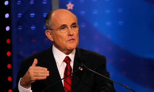 Rudy Giuliani once had a real chance of becoming president – and he blew it