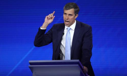 Democrats try to tempt Trump on guns as Beto beats drum for AR-15 buyback