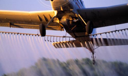 Church uses crop duster plane to spray holy water upon Louisiana faithful