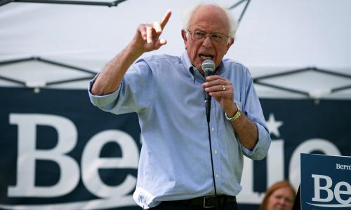 Bernie Sanders announces plan to double union membership if elected