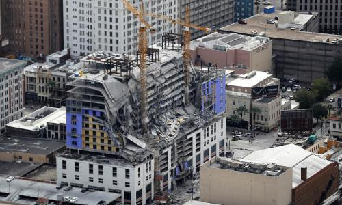 Victims bodies still at New Orleans Hard Rock Hotel months after collapse