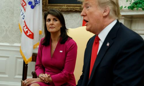 Nikki Haley: Tillerson and Kelly tried to block Trump to save country