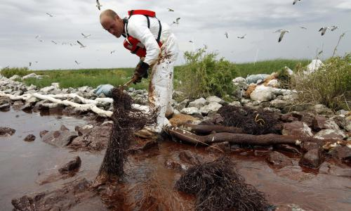I pray to God it never happens again: US gulf coast bears scars of historic oil spill 10 years on