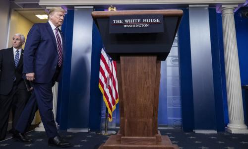 Trump says briefings not worth the effort amid fallout from disinfectant comments