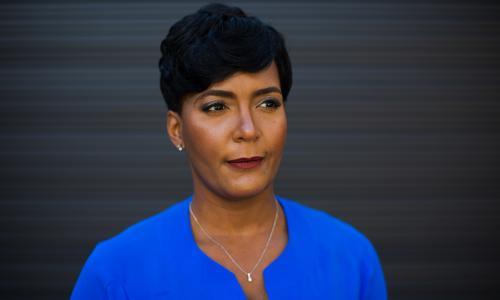 Ahmaud Arbery: Atlanta mayor accuses Trump of inciting racist acts