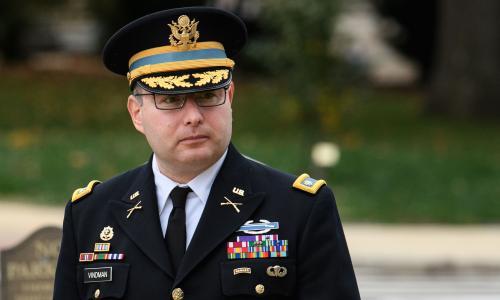 Army officer tells impeachment inquiry of gaps in Trumps Ukraine transcript