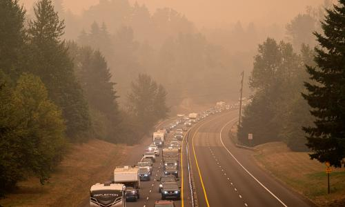 I have never seen anything like this: Oregon towns emptied and confusion spreads amid fires