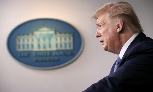 Trump says coronavirus upheaval could last beyond August