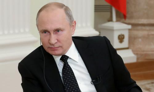 Western liberalism is obsolete, warns Putin, ahead of May meeting