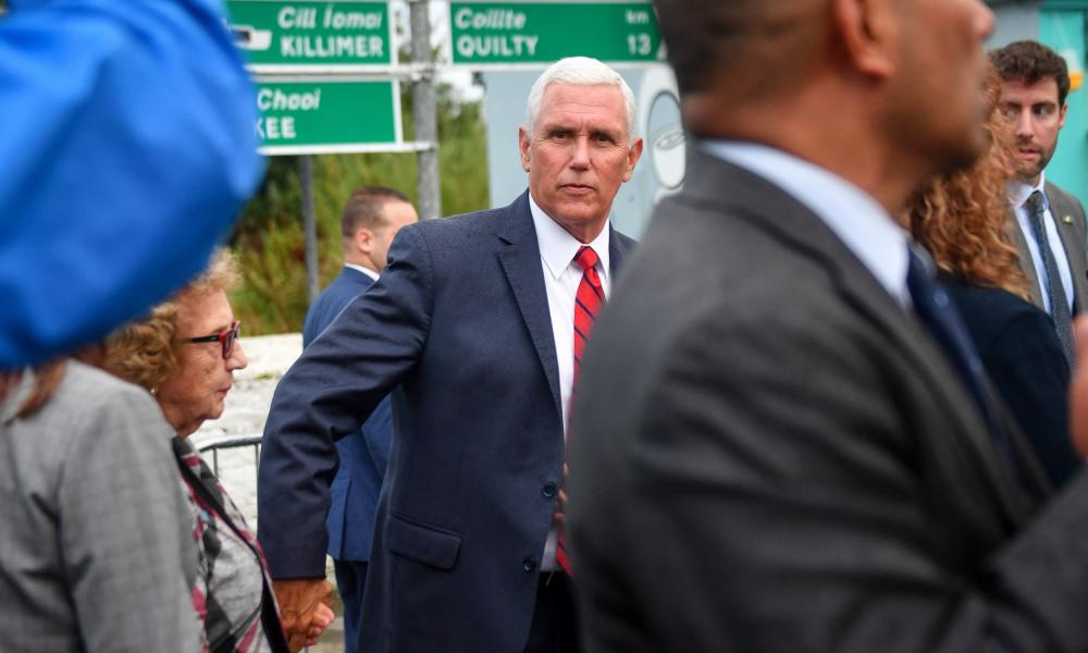 Mike Pence accused of humiliating hosts in Ireland: He shat on the carpet