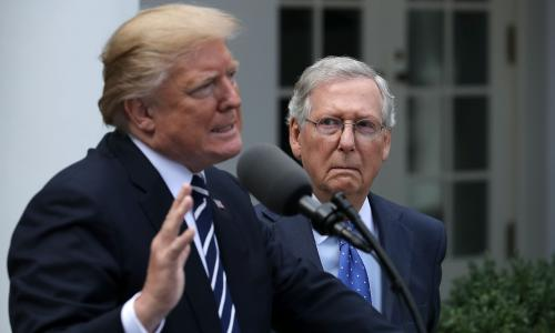 Mitch McConnell: ruthless operator determined to triumph for Trump