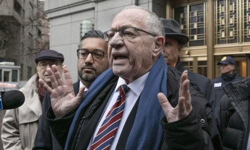 Alan Dershowitz: Trump impeachment acquittal would make me unhappy