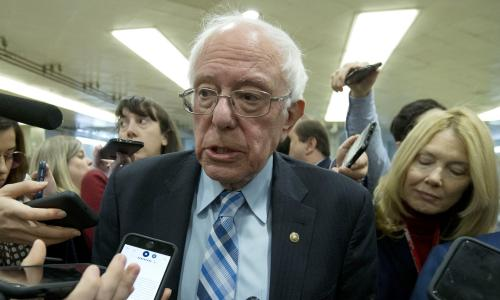 Bernie Sanders must reconsider Joe Rogan endorsement, says LGBTQ group