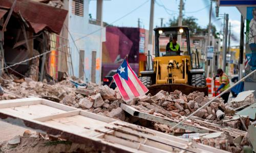 Puerto Rico earthquakes are just the latest in a string of shocks for US island