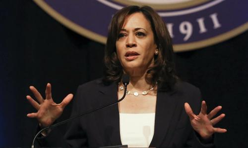 Kamala Harris might be surging – but her record will soon catch up with her