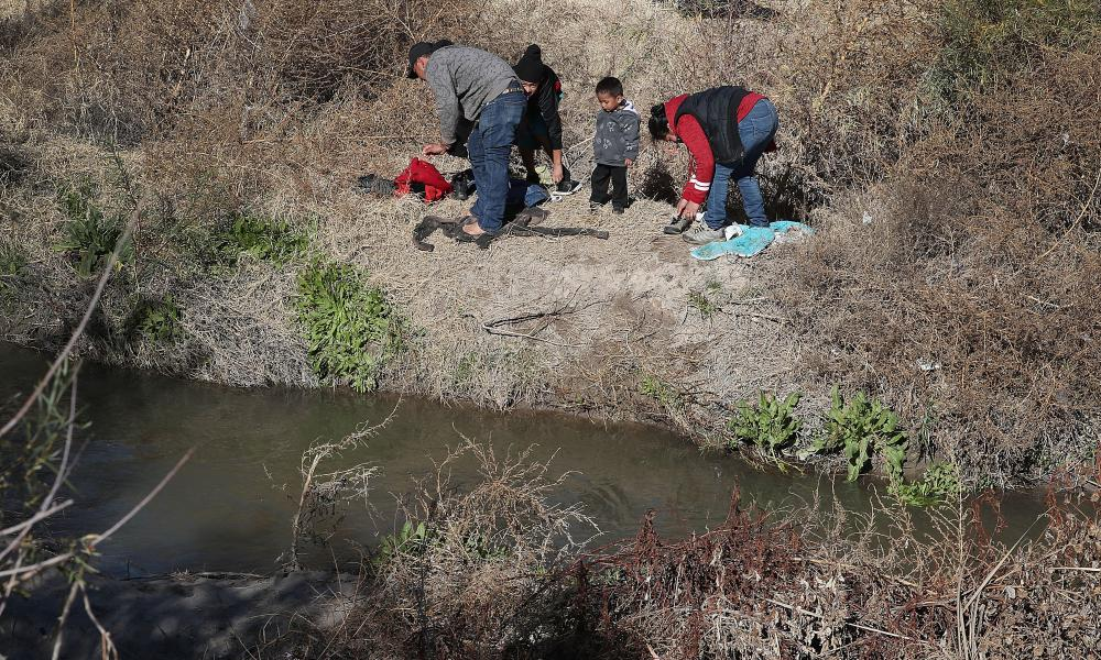 'The river is treacherous': the migrant tragedy one photo cant capture