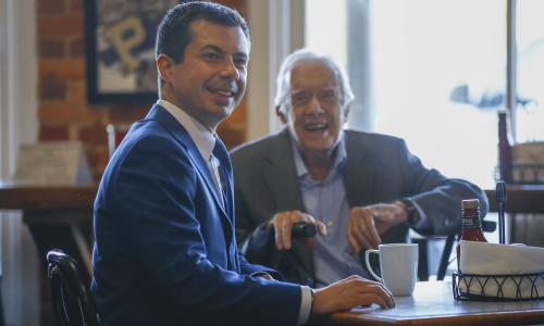 Pete Buttigieg will not quit Democratic race despite Joe Biden surge