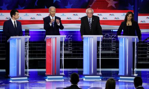 Who won the Democrats second debate? Our panelists verdicts