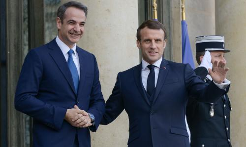 France to send warships to support Greece in Turkish standoff