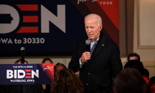 Stop saying Biden is the most electable. Trump will run rings round him