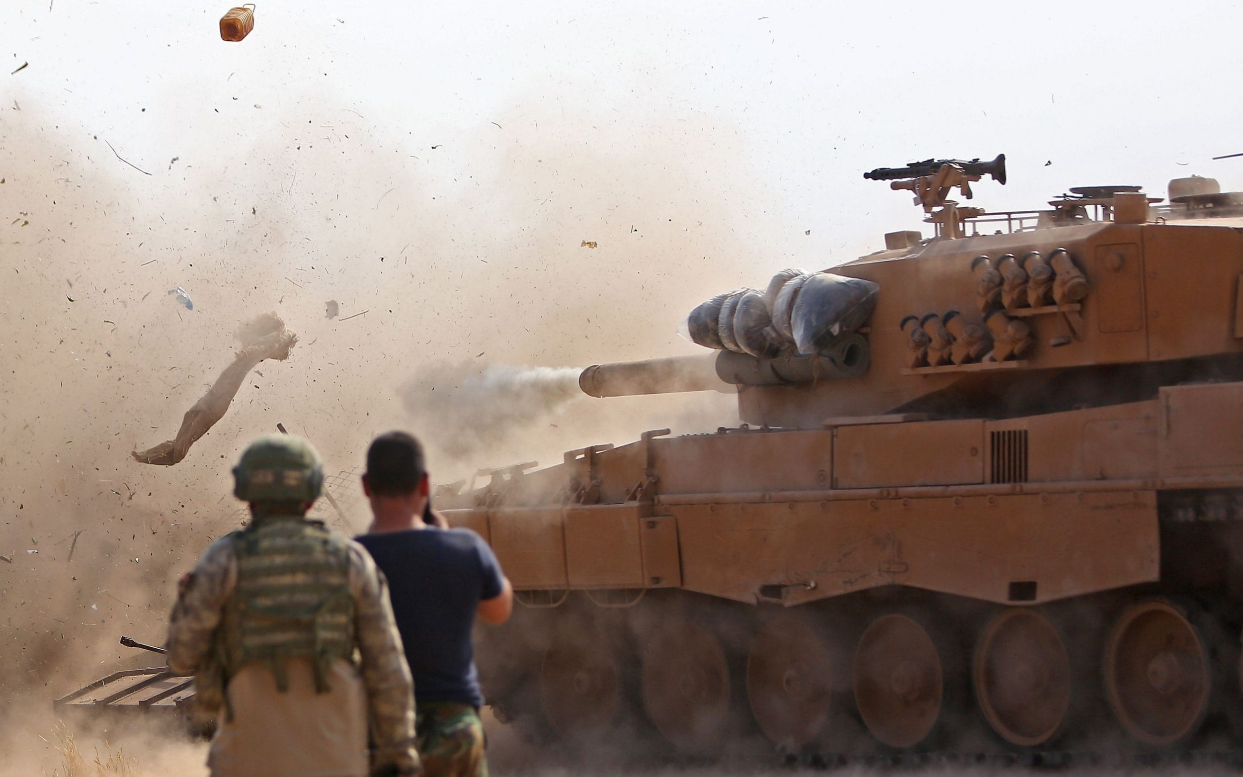 Six Syrian soldiers killed as regime army and Turkish military clash for first time since offensive
