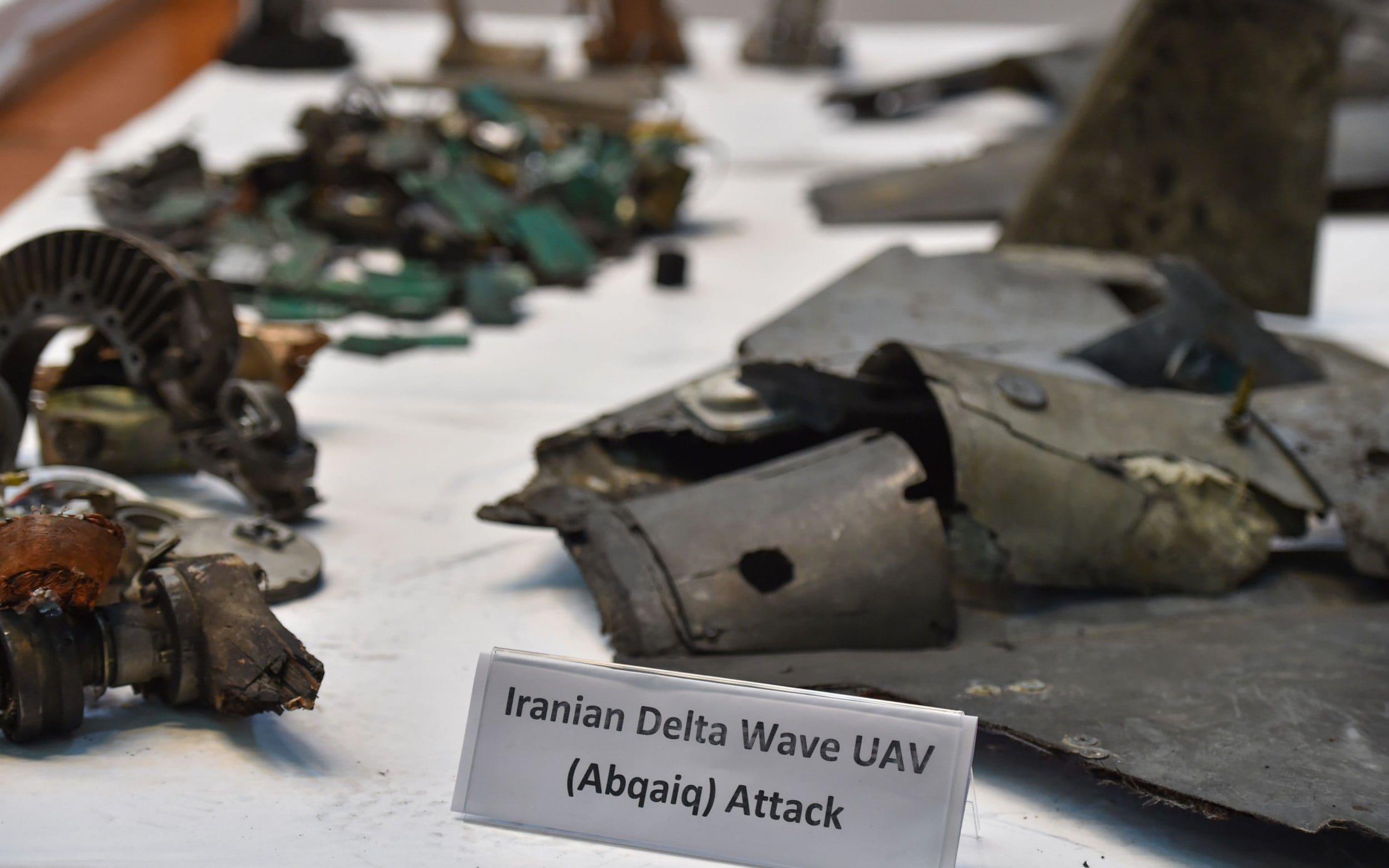 Trump slaps new sanctions on Iran as Saudi Arabia displays missile debris as proof Tehran backed oil attacks