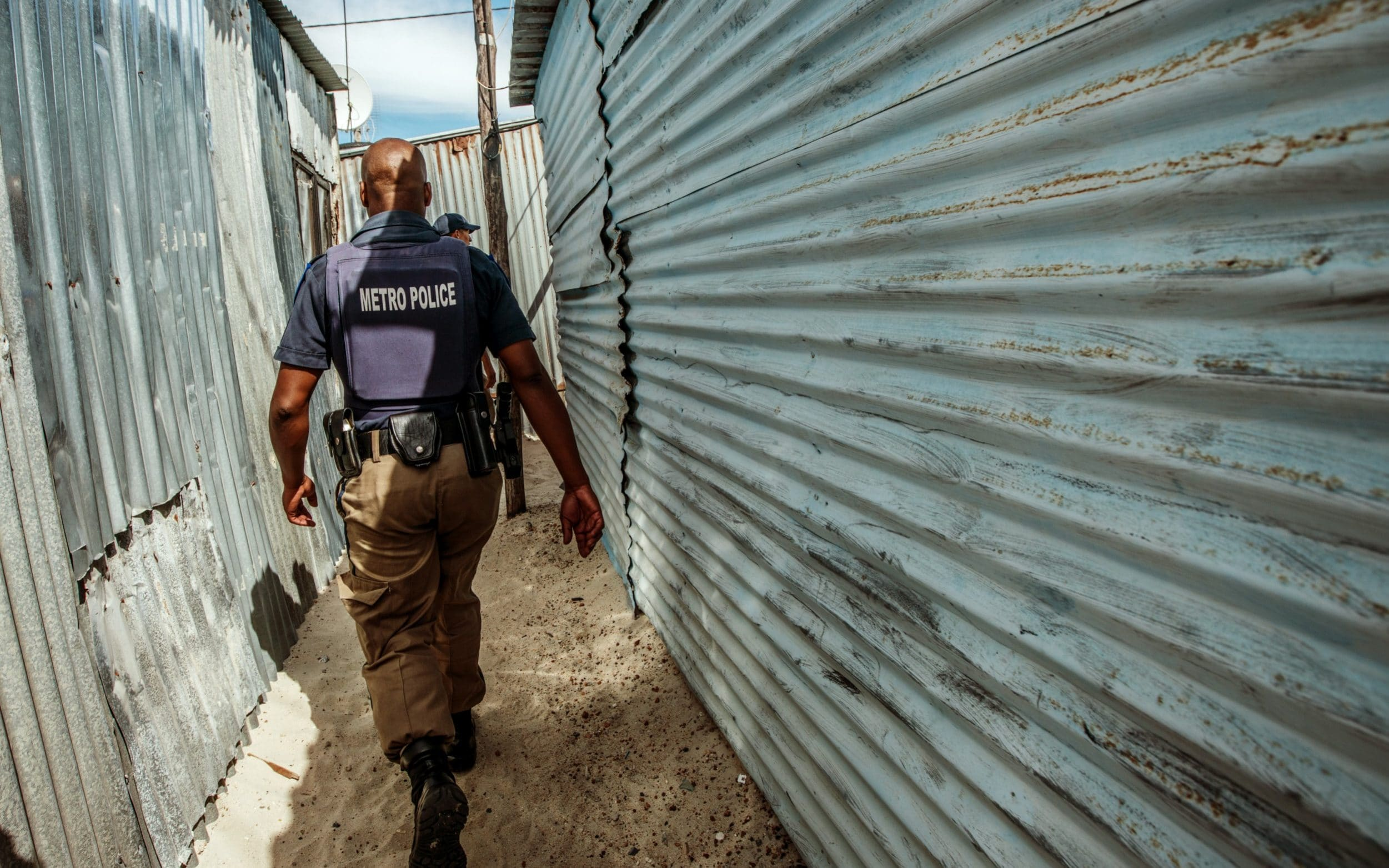 South Africa sends troops into warzone township