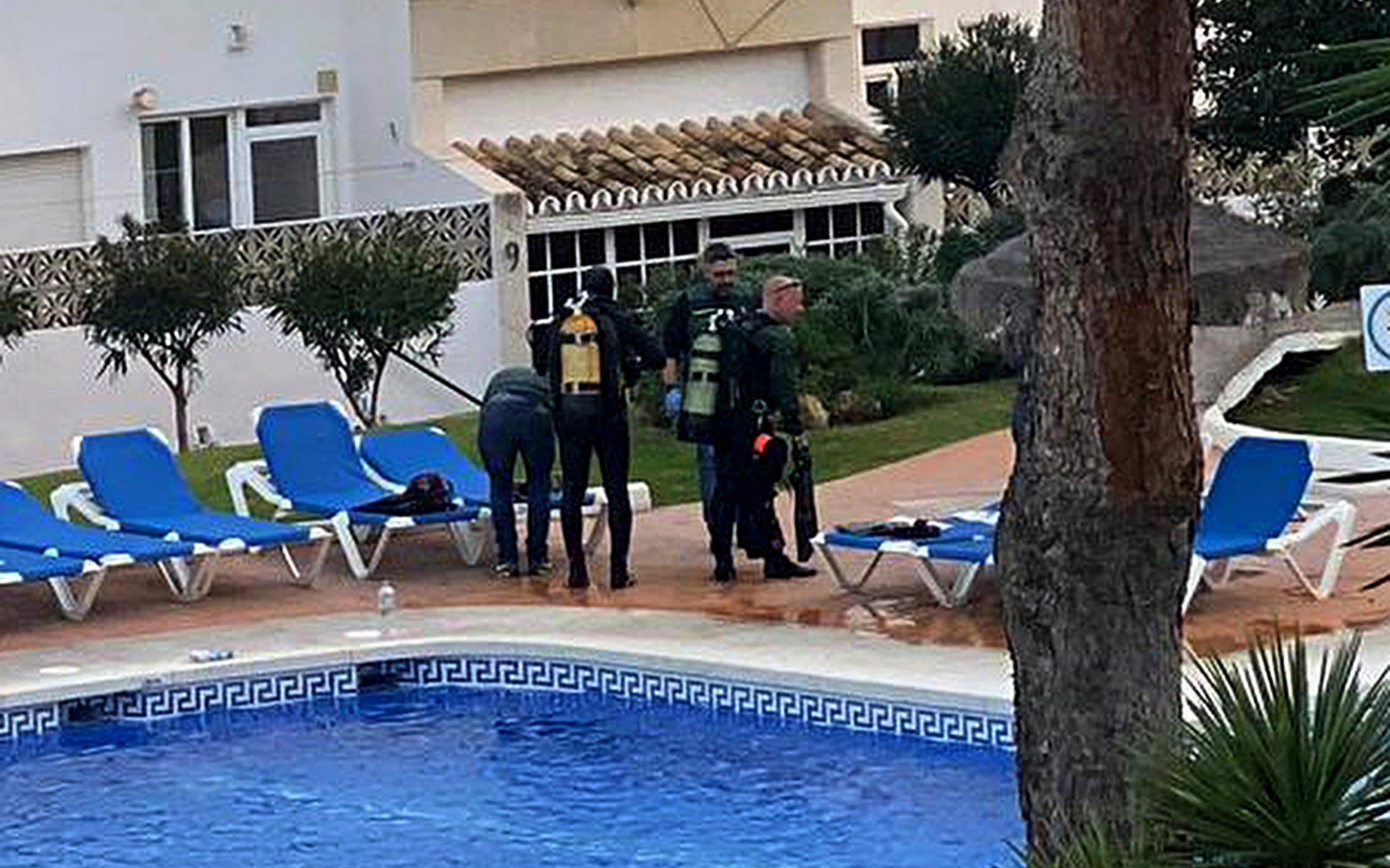 Three members of British family die after drowning in swimming pool at their Costa Del Sol hotel