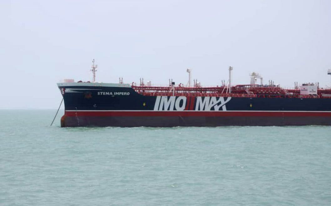 UK asked US not to sabre rattle over tanker seized by Iran