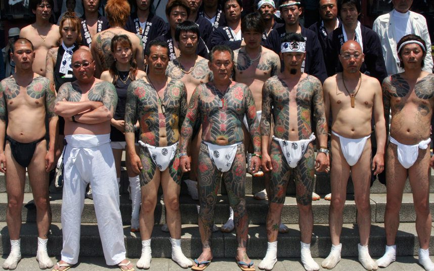 Japan's feared 'yakuza' gangsters banned from Halloween festivities