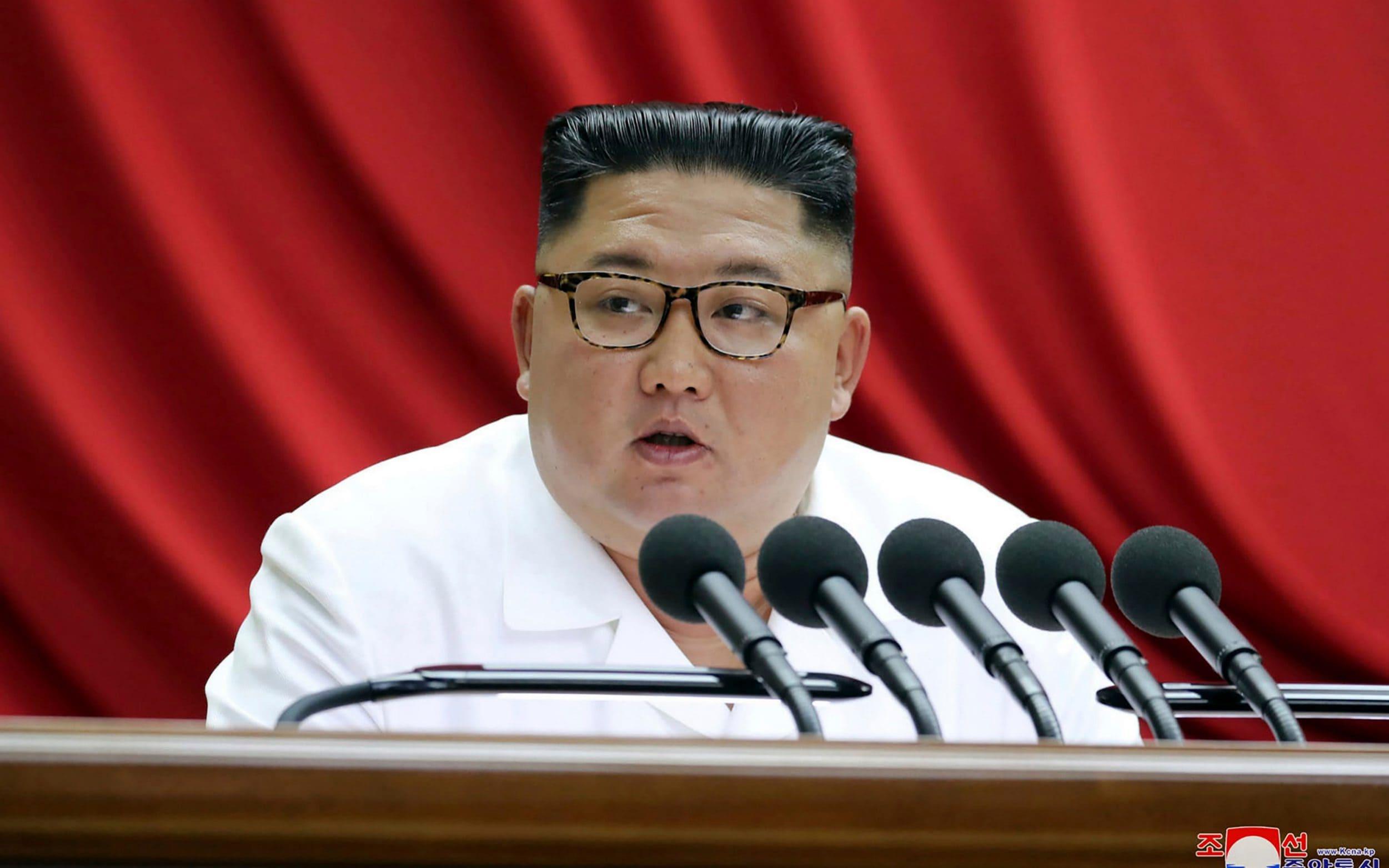 Kim Jong-un says North Korea ending moratoriums on tests - and touts new strategic weapon