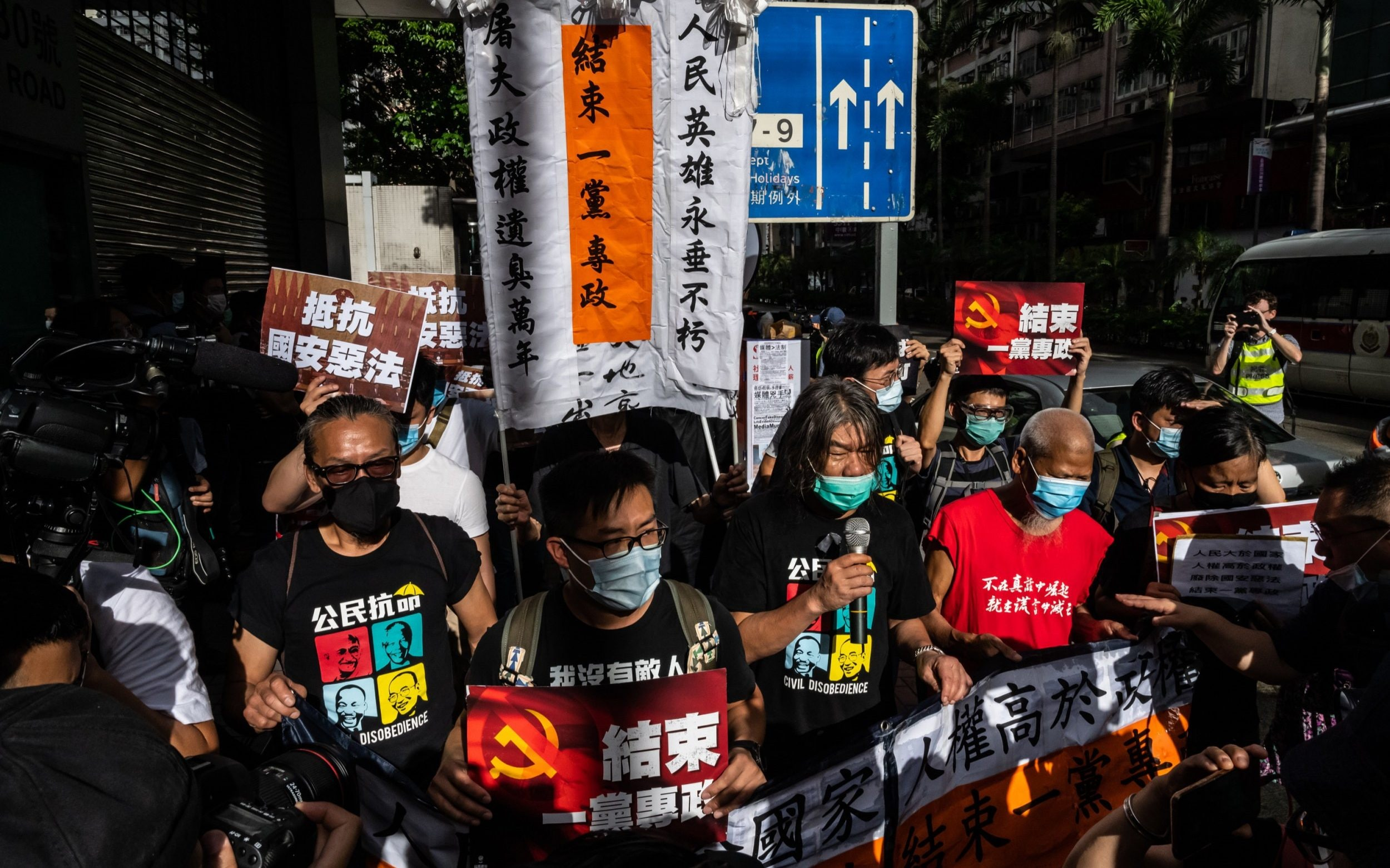 Hong Kong: Mike Pompeo threatens China with new measures after Beijing enacts draconian security law