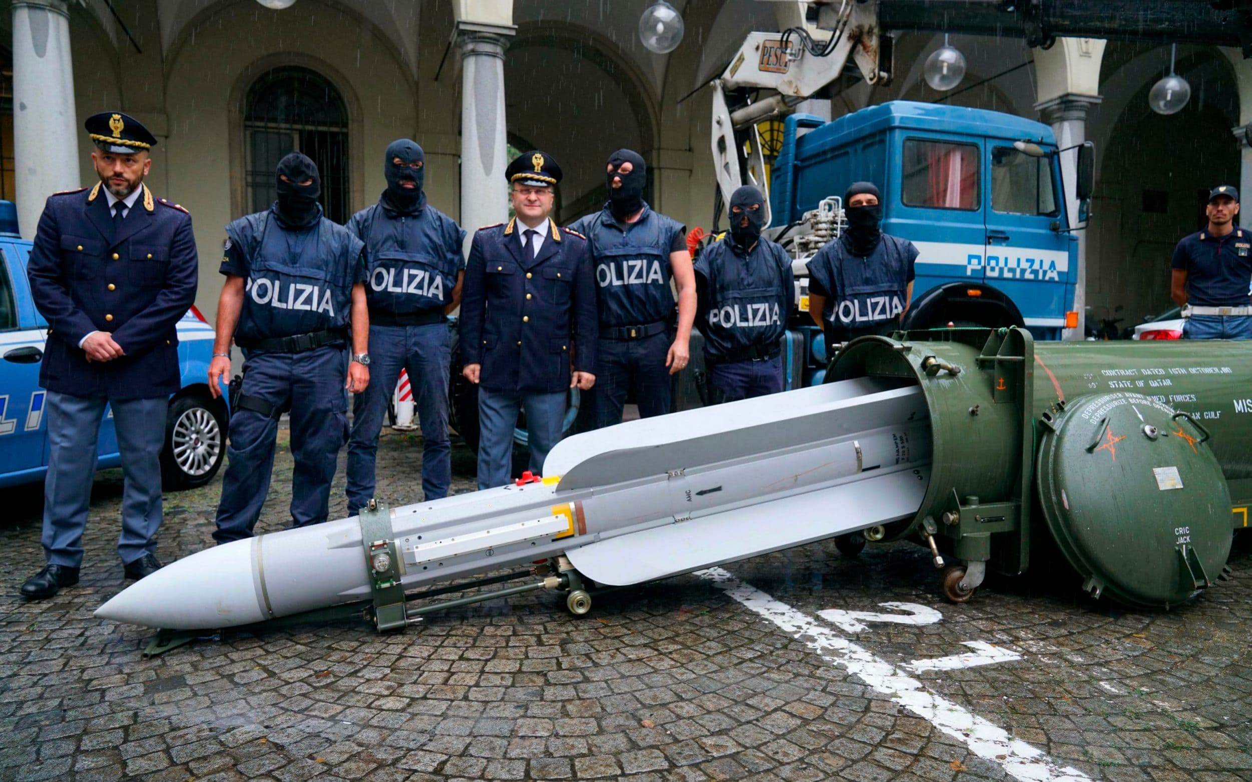 Italy seizes combat-ready missile and automatic weapon stash in raids on far-Right figures