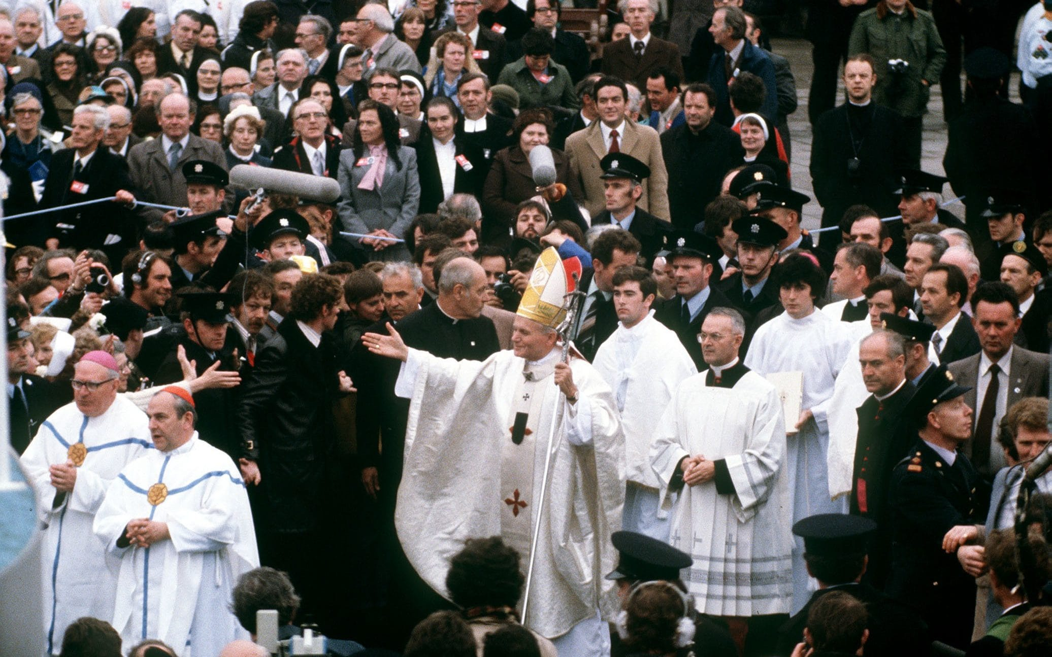 Irish priests call for celibacy rules to be relaxed and women to be ordained amid clergymen shortage