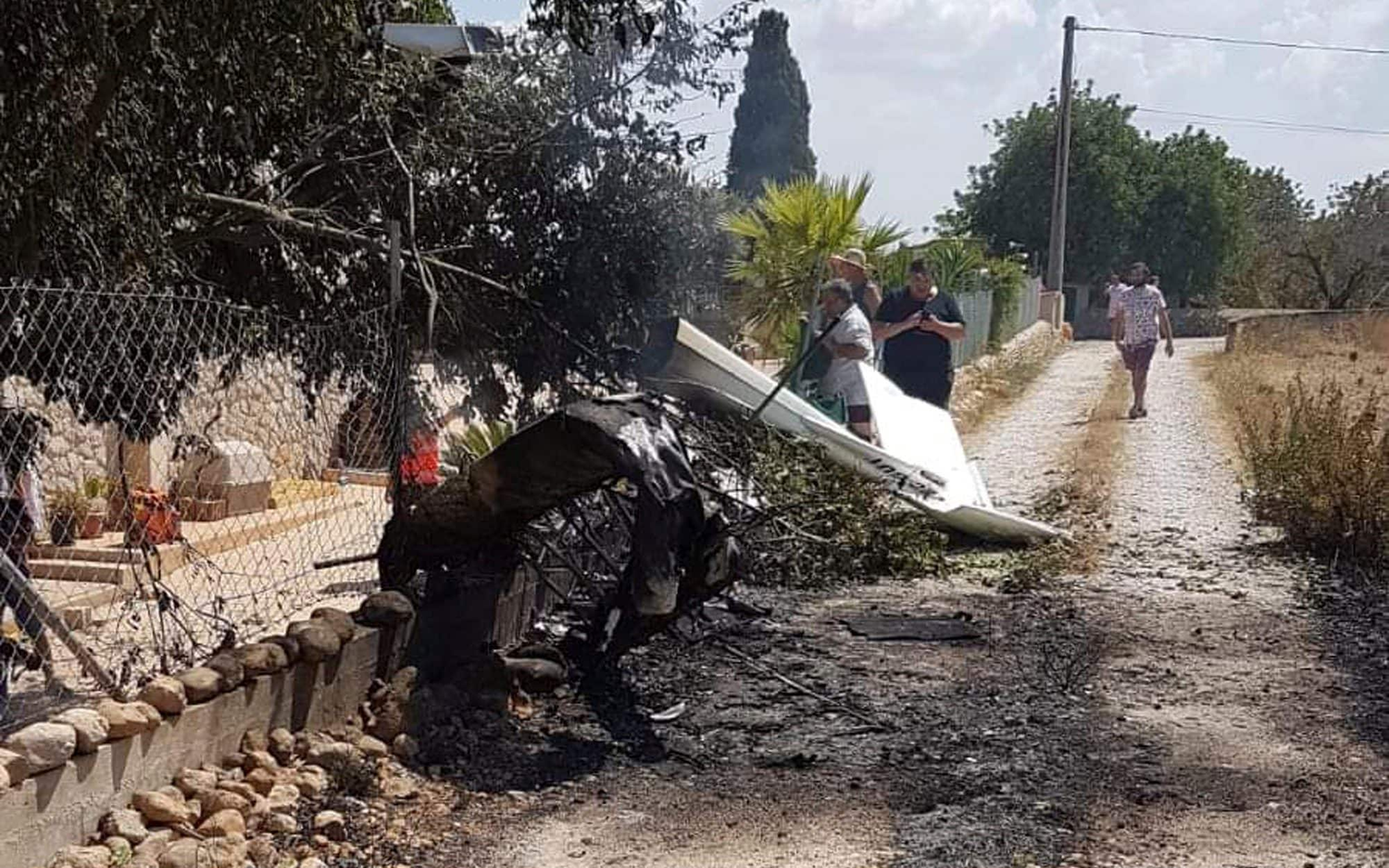 Seven dead in Majorca air crash as sightseeing helicopter collides with ultralight plane