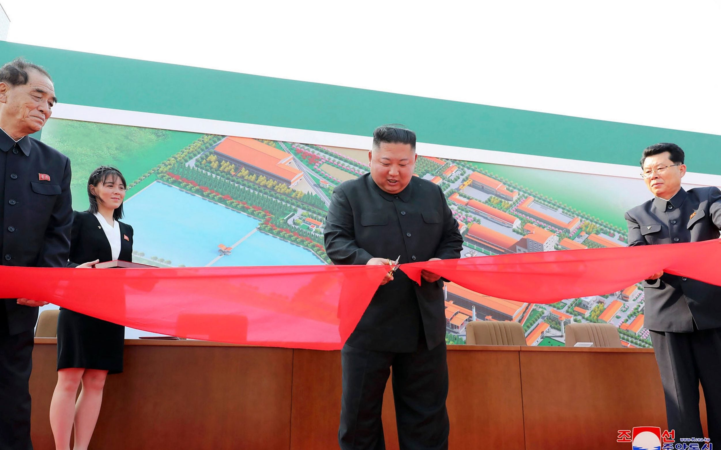 North Korea tries to end speculation over supreme leaders health with ribbon cutting pictures