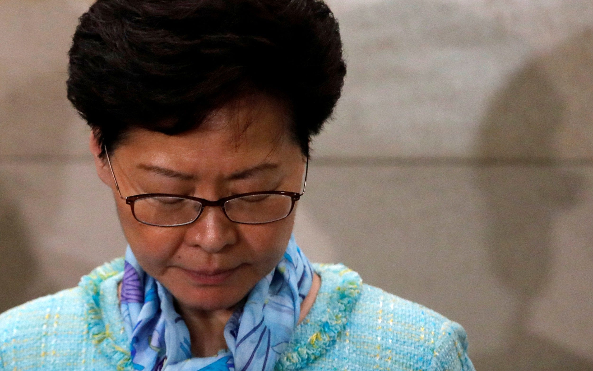 Hong Kong protests: Defiant Carrie Lam condemns storming of parliament and vows to take action