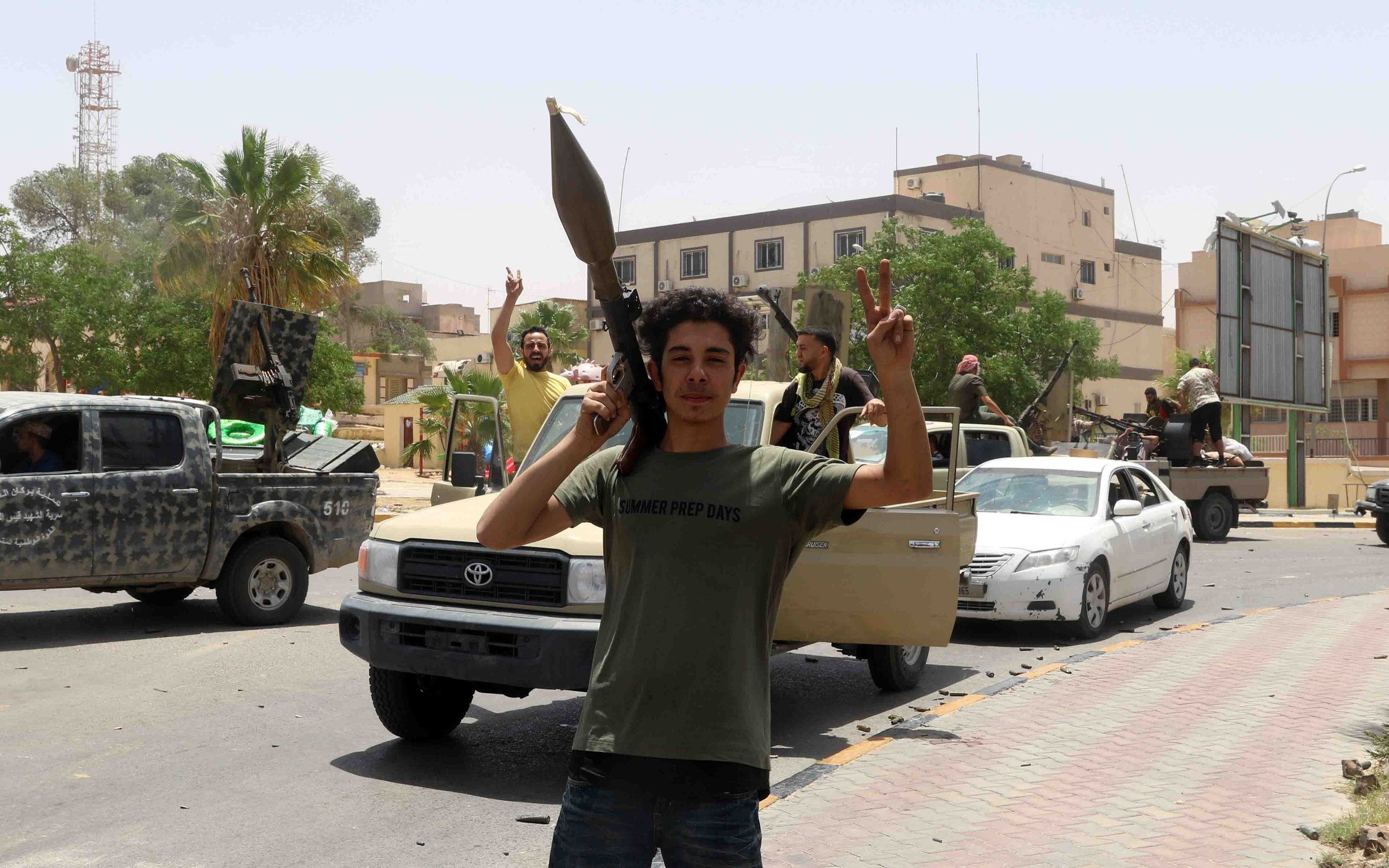 Egypt proposes new Libya plan after collapse of Haftar offensive