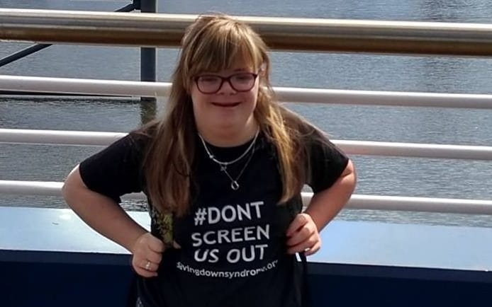 Woman with Down's syndrome says she is better off dead in eyes of the law, ahead of legal challenge