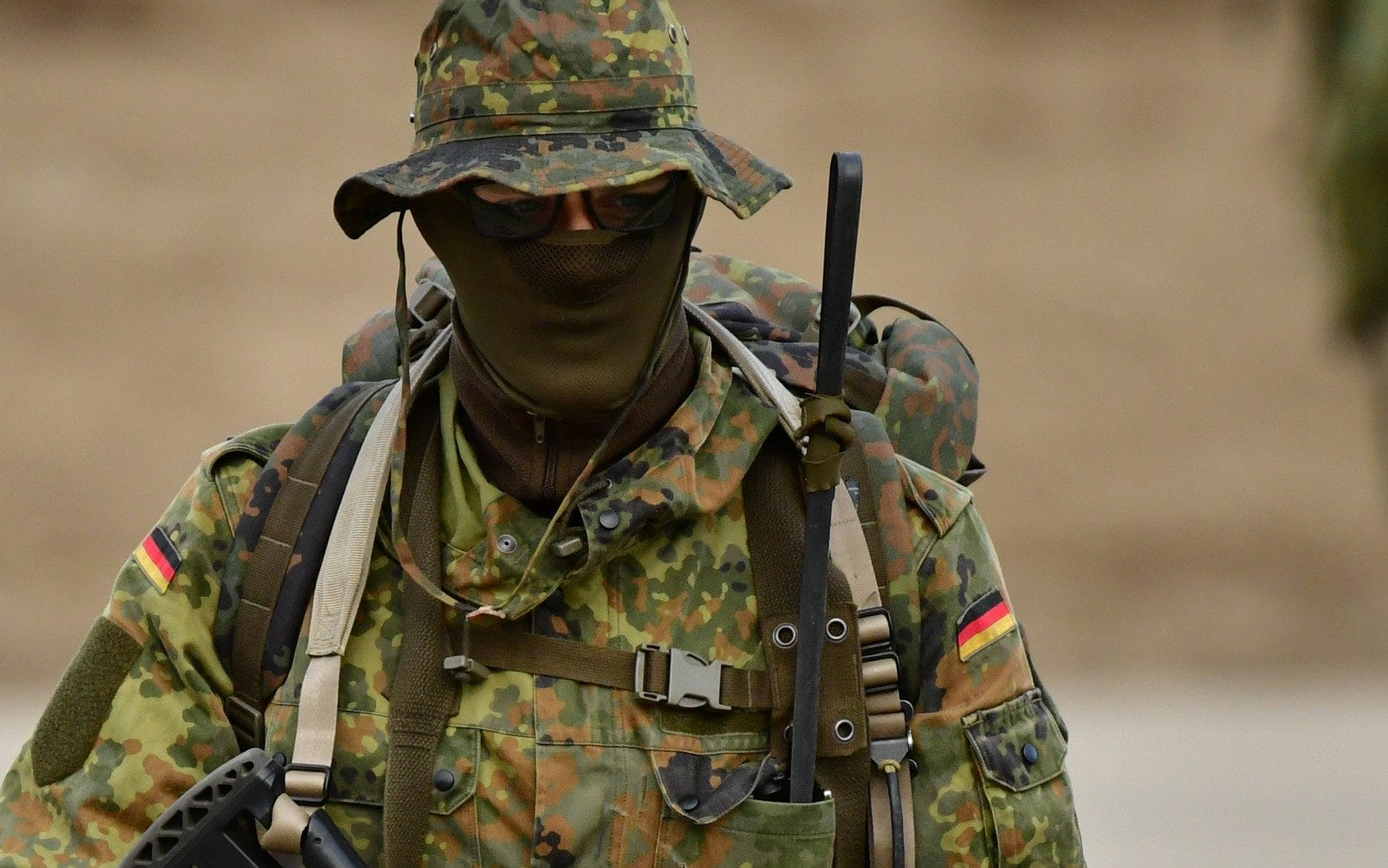 German soldiers offered free travel in uniform to boost army visibility