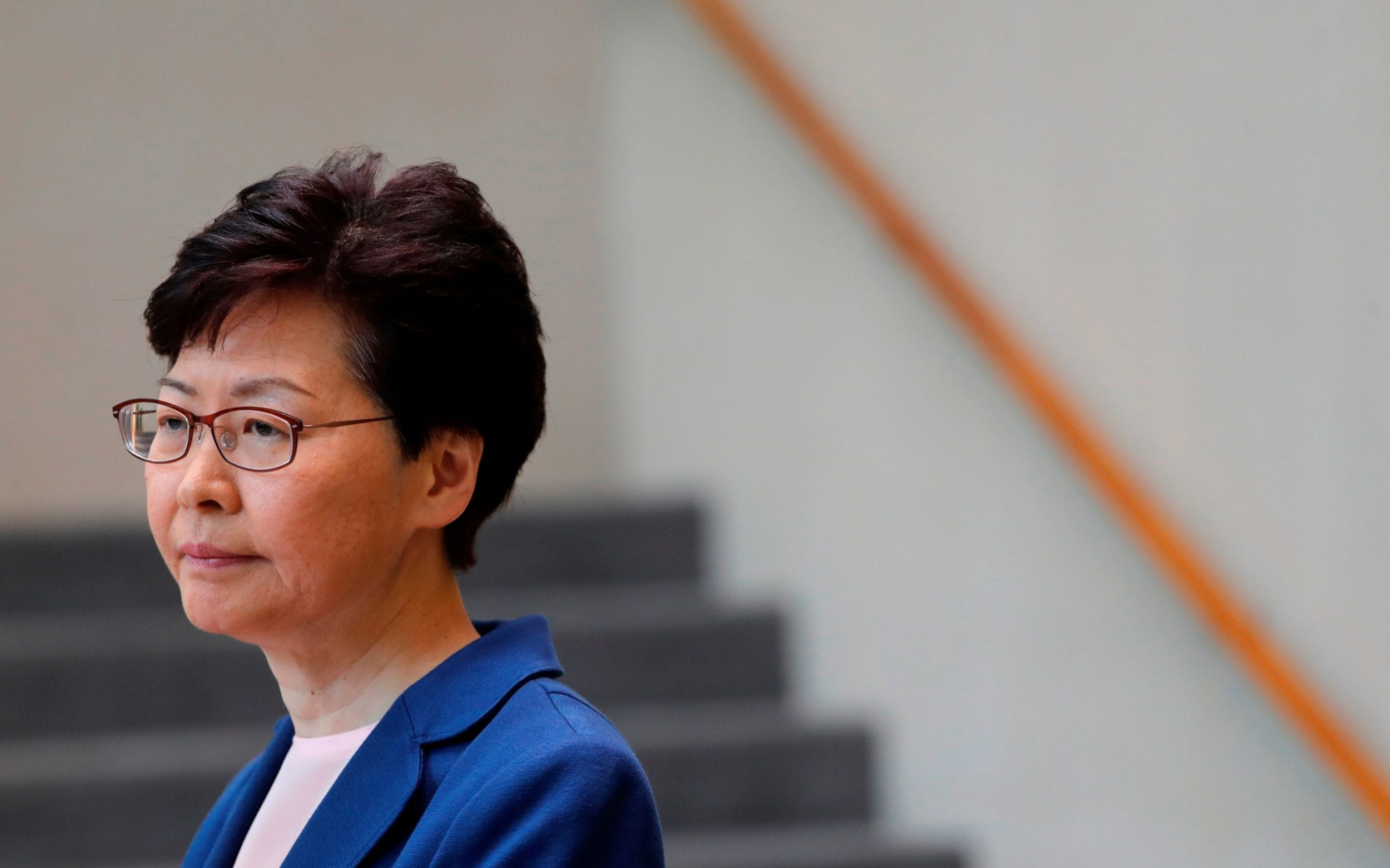 Hong Kong leader Carrie Lam recorded saying she would resign if she could