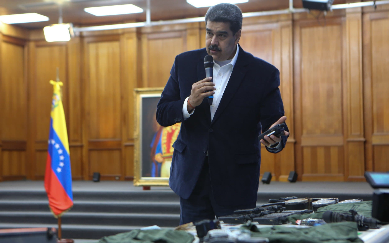 Venezuelas Maduro parades Americans detained in daring plot to overthrow him