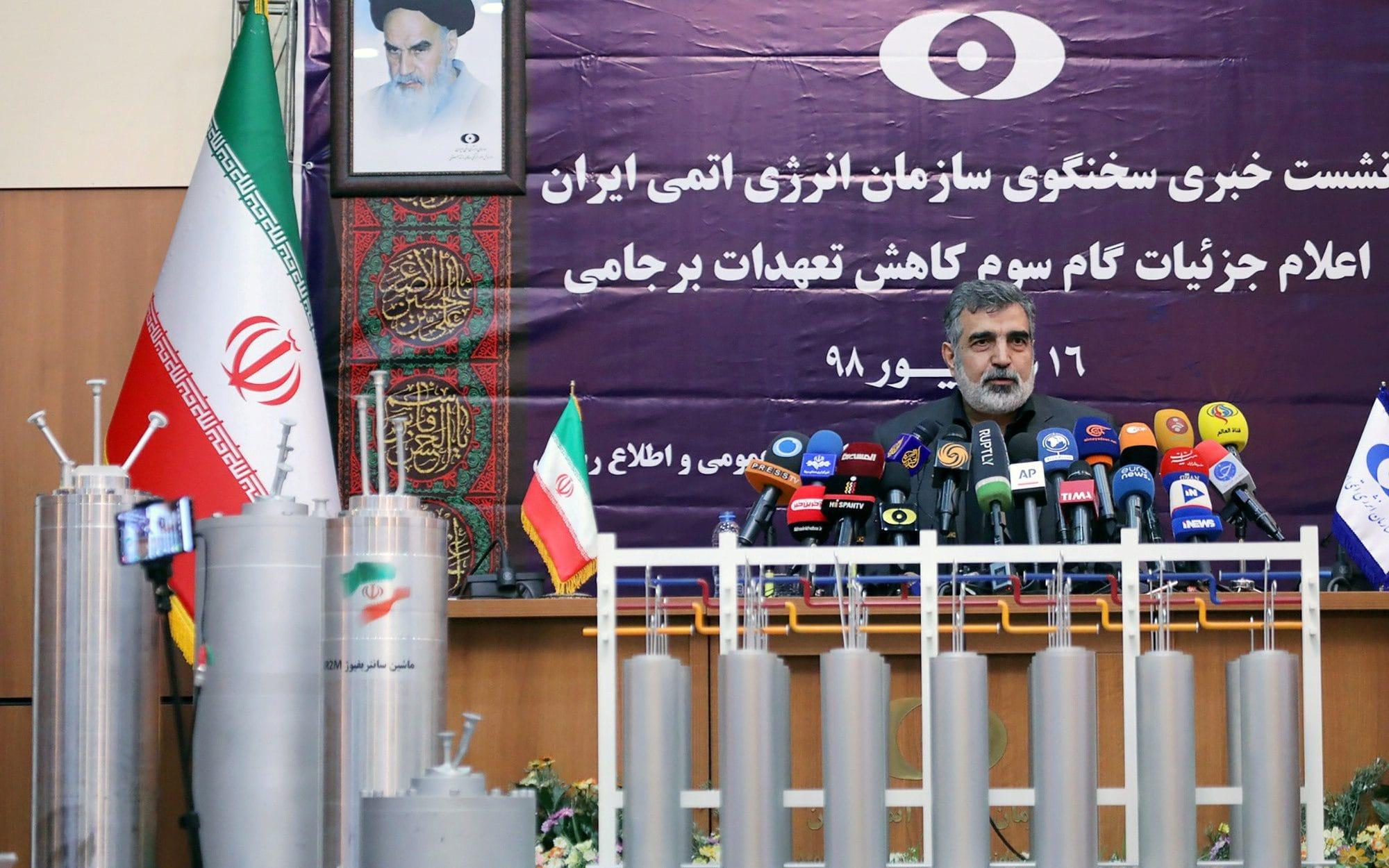 Iran speeds up uranium enrichment in latest breach of nuclear deal