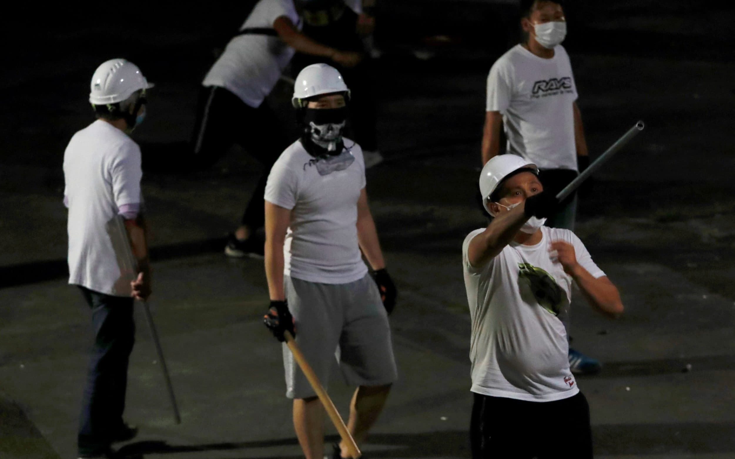 Anger in Hong Kong over triad attack on anti-government protesters