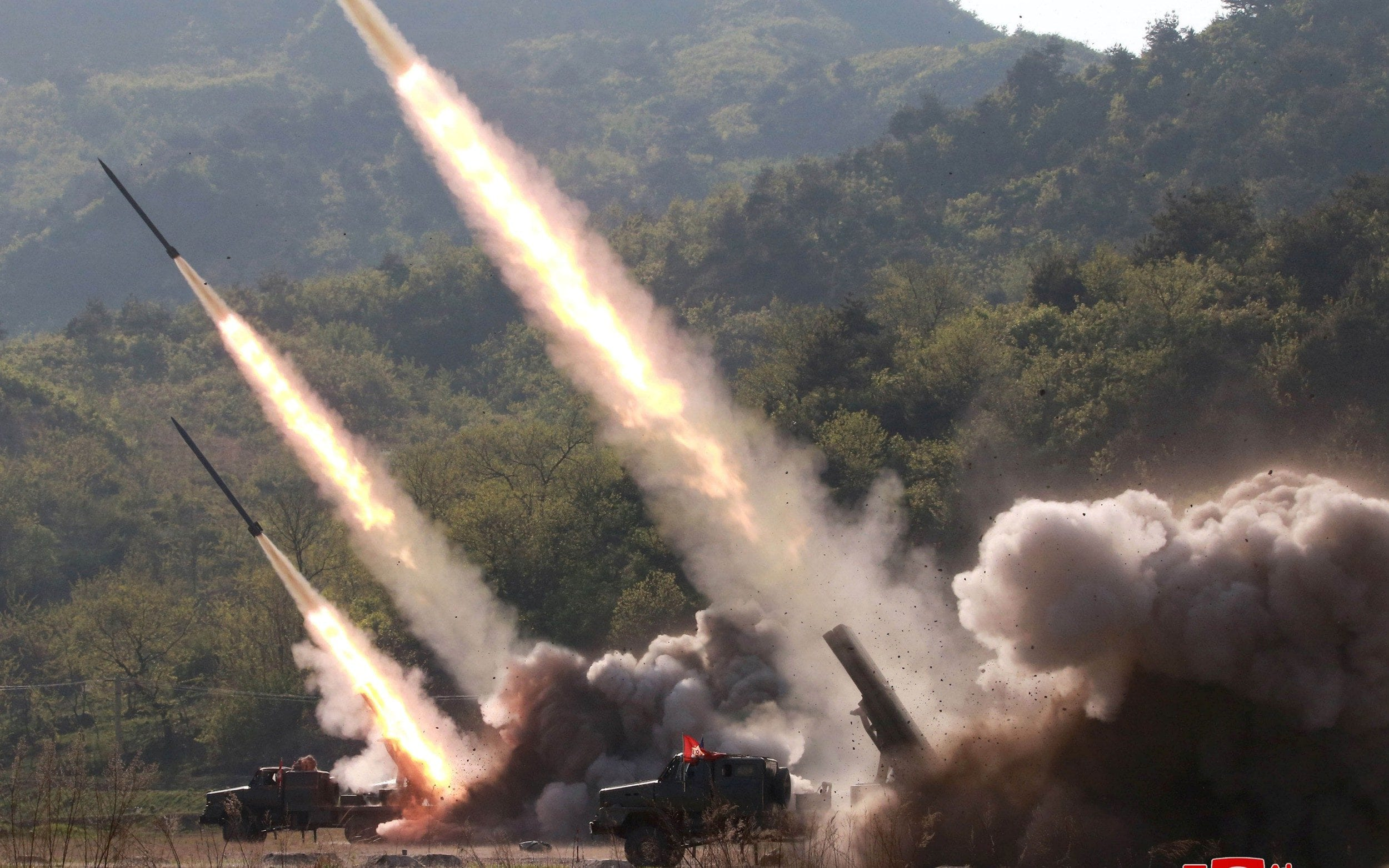 North Korea tests new type of missile amid rising anger over US military drills