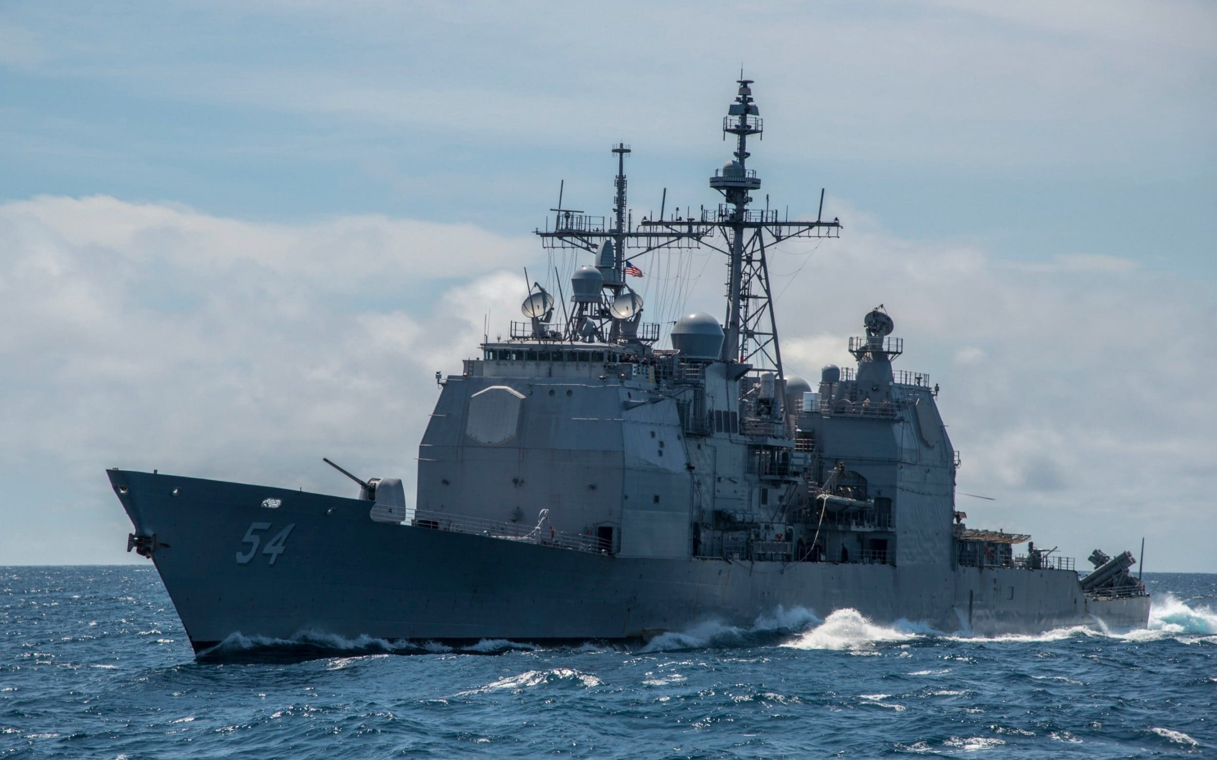 US ship sails through Taiwan Strait after threat of force from China against independence