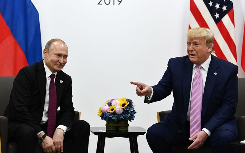Trump jokes with Putin at G20: Dont meddle in the election, please