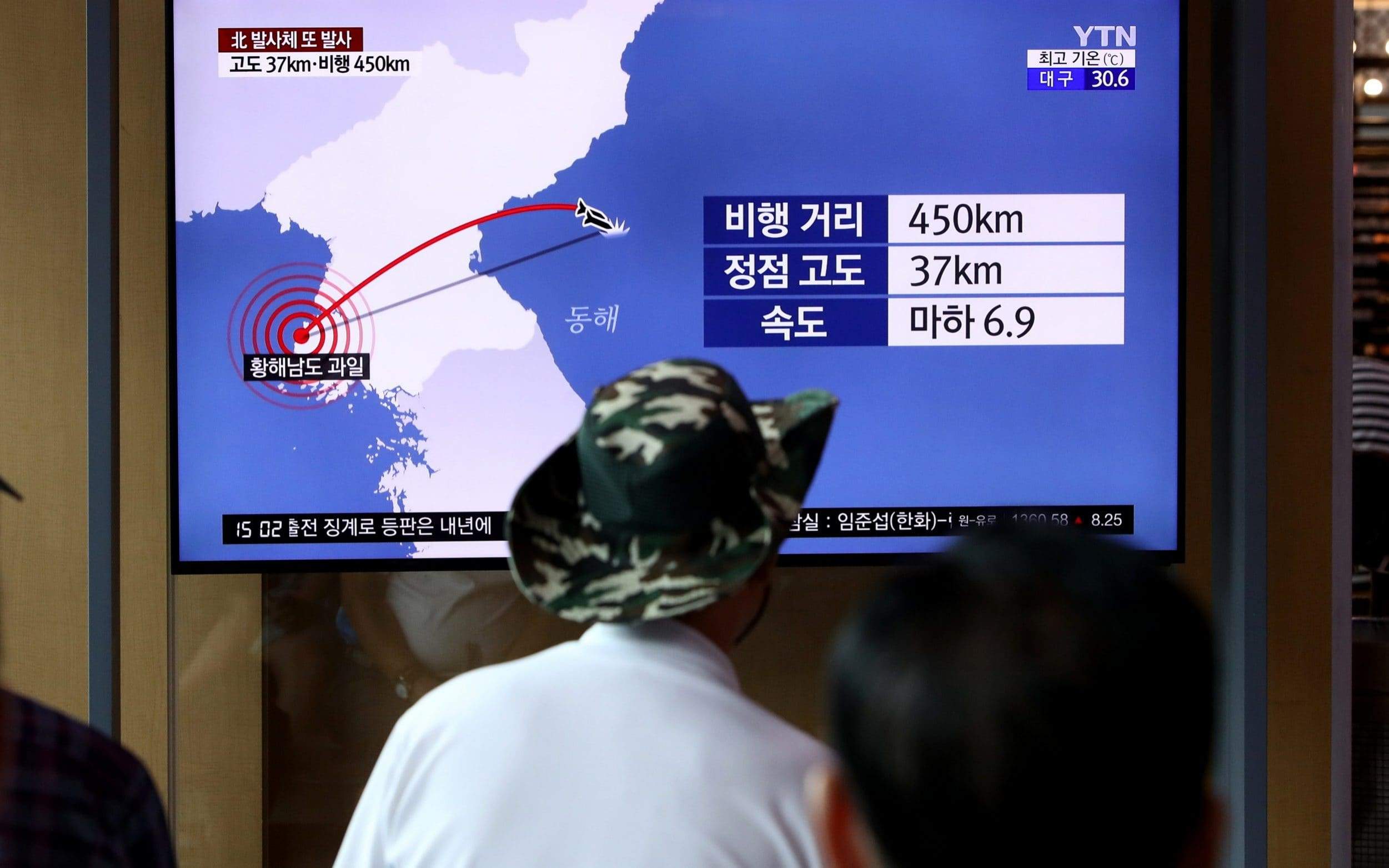 Analysis: North Koreas missile tests point to end of nuclear talks