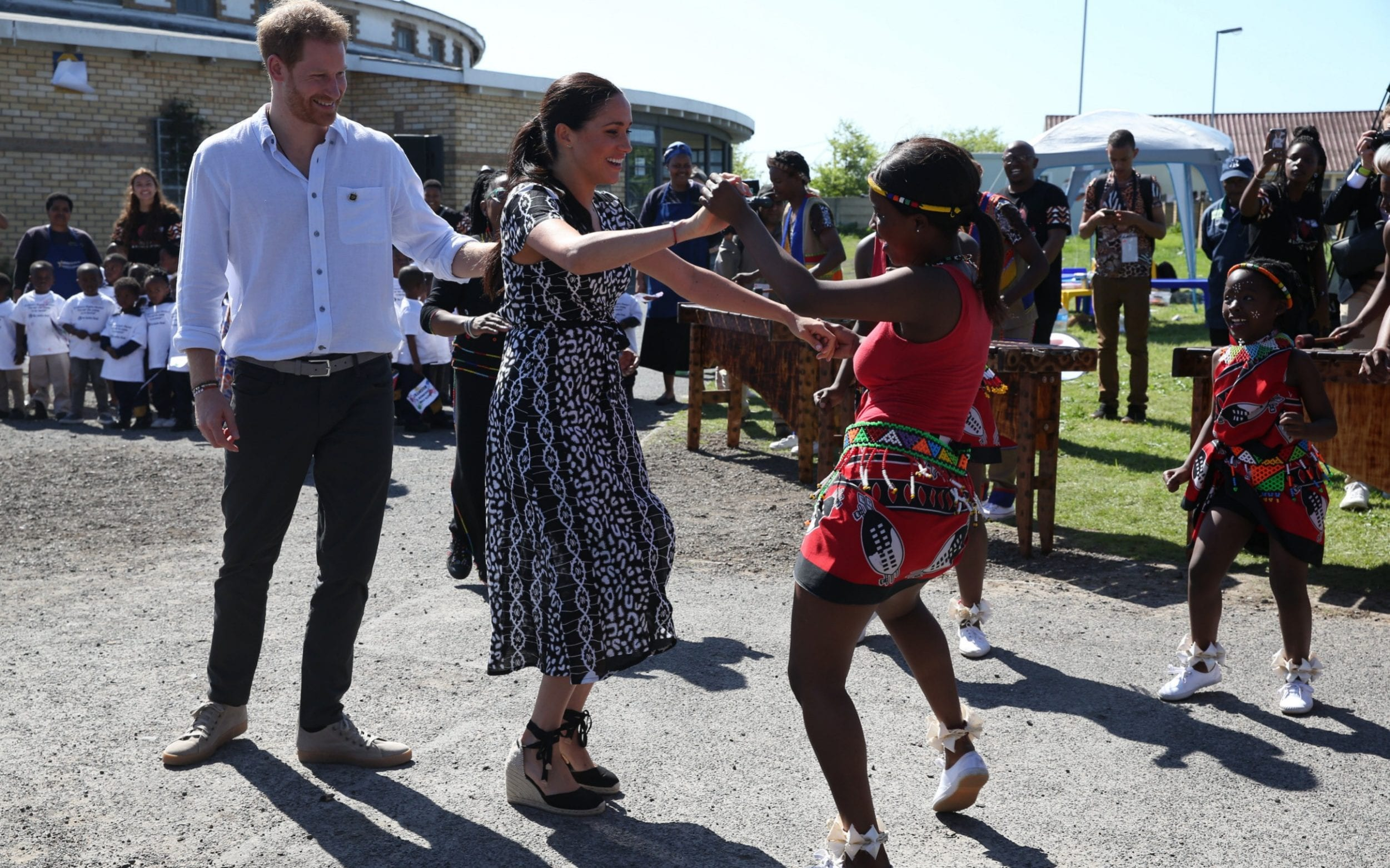 Duchess of Sussex tells South Africa: I am here as a mother, as a wife, as a woman of colour, and as your sister