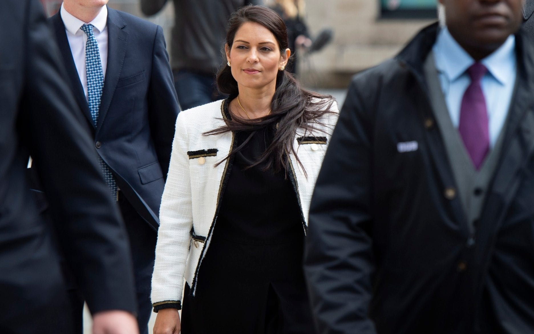 Priti Patel says Labour MPs who accused her of gaslighting black people were being racist